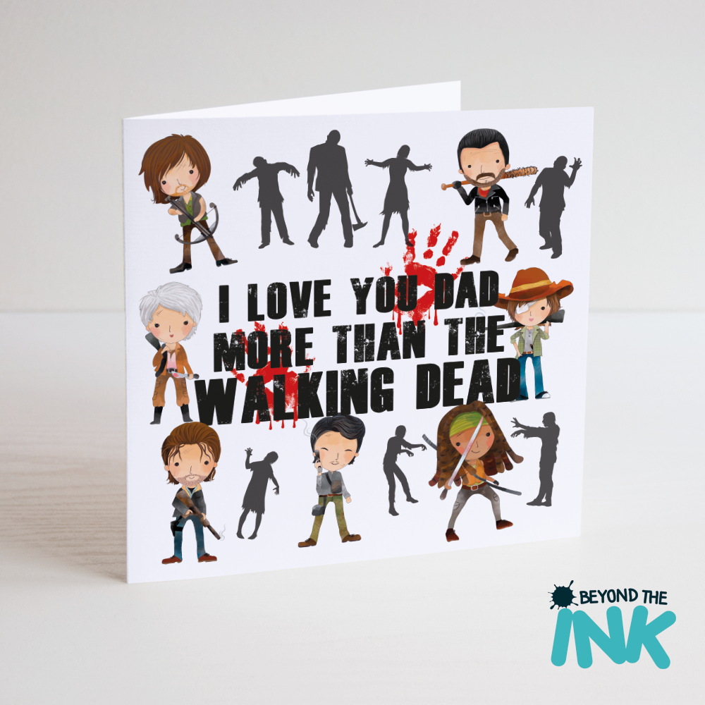 The walking dead dad card beyond the ink m4hsunfo