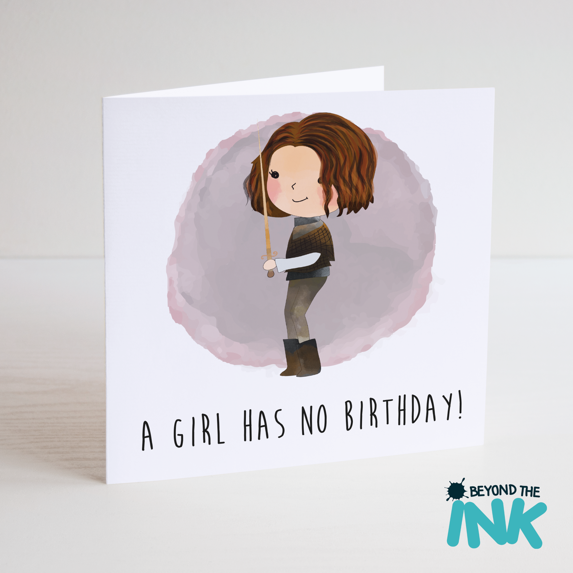 HomeCardsBirthday CardsCharacterGame Of ThronesGame Thrones A Girl Has No Birthday Card