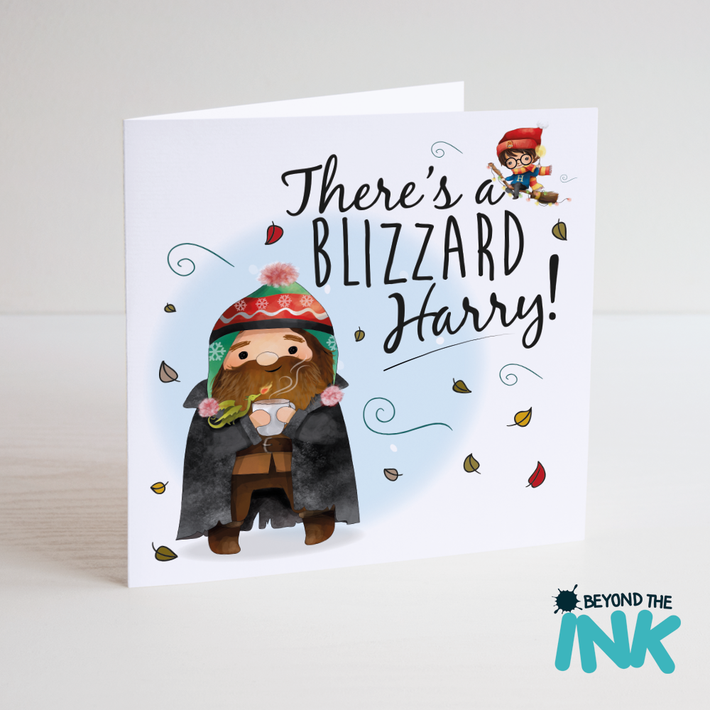 Funny Harry Potter Christmas Card | Beyond The Ink